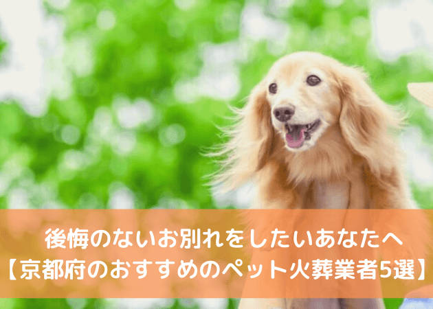 ペット火葬 京都